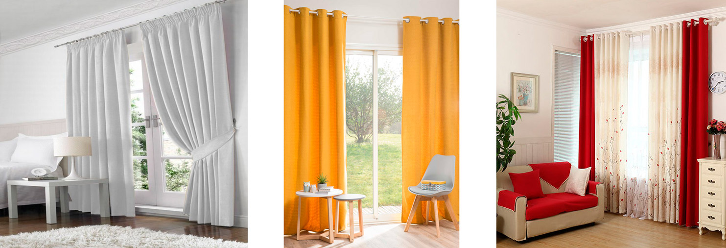 Cortinas faciles cortinas cortinados textiles cortinas for Cortinas faciles